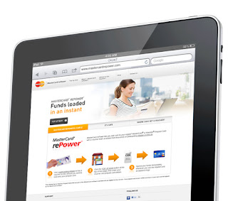 MasterCard rePower website - front end designed & built by Fifth Dimension