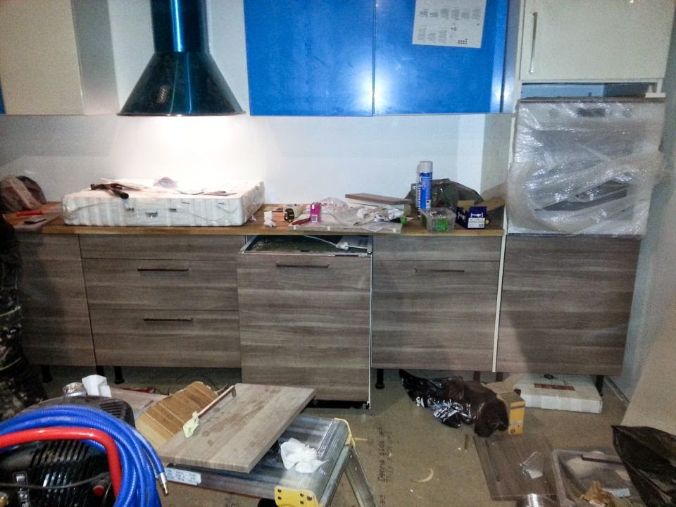 Peipon Pesä 2015 edition Peipon pesän remonttia kuvina Ensimmäisenä keittiö