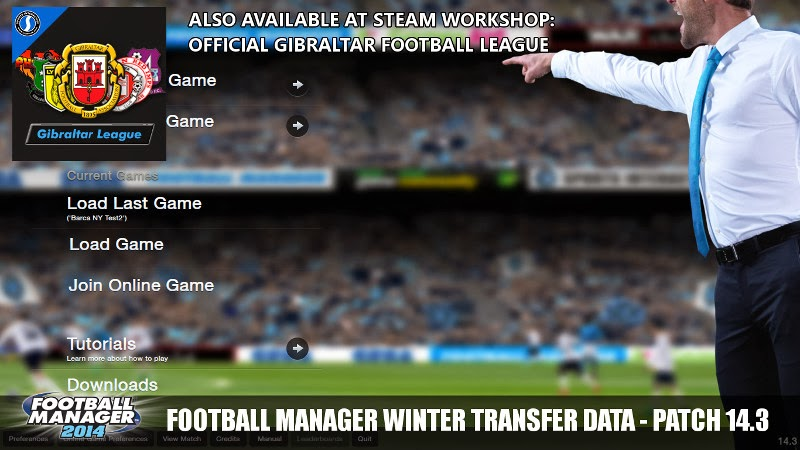 FM14 Winter Transfer Data Update Patch 14.3