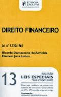 LEIS ESPECIAIS PARA CONCURSOS - V.13 - DIREITO FINANCEIRO