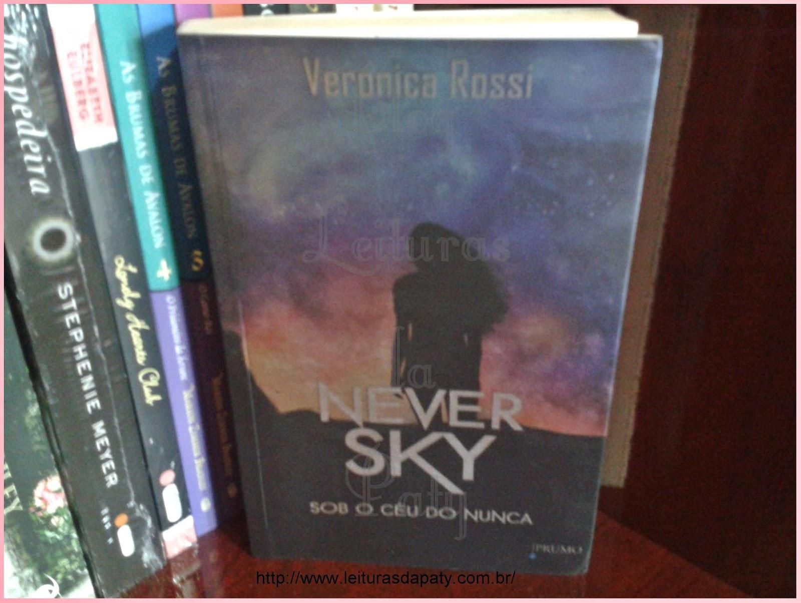 Livro Never Sky - Editora Prumo - Blog Leituras da Paty