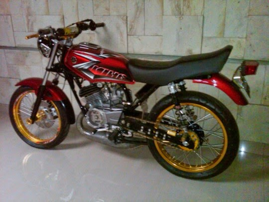 modifikasi motor yamaha rx king versi merah