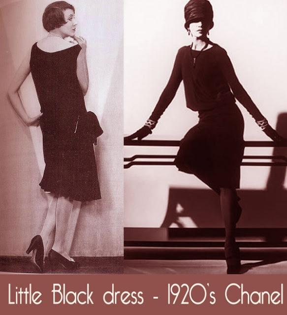 Шанель, дом моды, первое маленькое черное платье, 1920