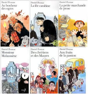 La Saga Malaussène - Daniel Pennac (série complète - 1,2,3,4,5,6)