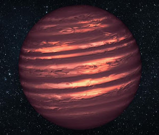 Artist's Concept Drawing of Brown Dwarf Star named 2MASSJ22282889-431026. Catchy name, isn't it?