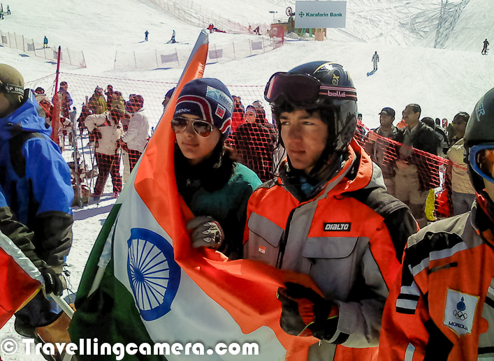 After series of Photo Journeys on some special personalities from different parts of the country, today we are sharing a Photo Journey with Rashael who has traveled various countries to represent India in Skiing. Let's check out this Photo Journey and know about Rashael's adventurous journey so far...(All photographs here are shared by Rashael and apologies for adding wrong watermark)First photograph of the Photo Journey was shot in lebanon asian championshipIn Rashael's own words -I started skiing when I was 2years and 5months.. I represented India in 7 times;1. Dream Program 2005 & 20062. 16th Asian Alpine SKi Championship 2007 KOREA (stood 7th3. 26th Pinocchio Cup Abetone ITALY 20084. 18th Asian Alpine Ski Championship LEBANON 2005. Participated in FIS international camp AUSTRIA 2016. Participated in FIS international camp GULMARG 2017.Participated in d South asian games (SAF games) Auli ( uttarakhand). I played my first national in the year 2005 but due to my fall during my second run I was ranked 4th. After that I played 4 nationals and won 8 gold medals ( slolan and gaint slolan races, two events in a year)  and was awarded with best skier award in the year 2008.Asian championship Iran 2012 !!Narkanda is the place where Rashael started practicing in childhood and gradually moved to different places. Near Narkanda, there is a place called Dhomri ground which is quite popular for skiiing. Himachal has few more places as well and more details can be checked out - http://www.himachalworld.com/adventure-tourism/skiing-in-himachalNot many of us know that Skiing is actually a sport in India as well. But for Rashael, Skiing is integral part of her being.  She has done India proud by representing the country in various international Skiing tournaments all over the world. It requires exceptional dedication and perseverance to achieve so much in anything. Our best wishes and prayers are with her that she achieves much greater heights than she already has.This photograph 