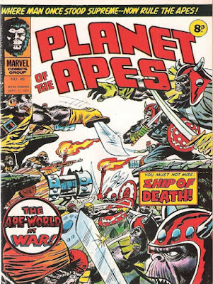 Marvel UK, Planet of the Apes #49