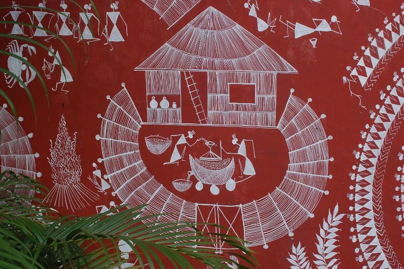 New style indian kitchen design - Design Decor Amp Disha Indian Art Warli Art Maharashtra