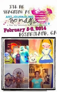 Art Journaling the magic