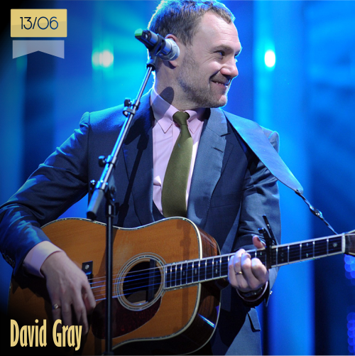 13 de junio | David Gray - @DavidGray | Info + vídeos