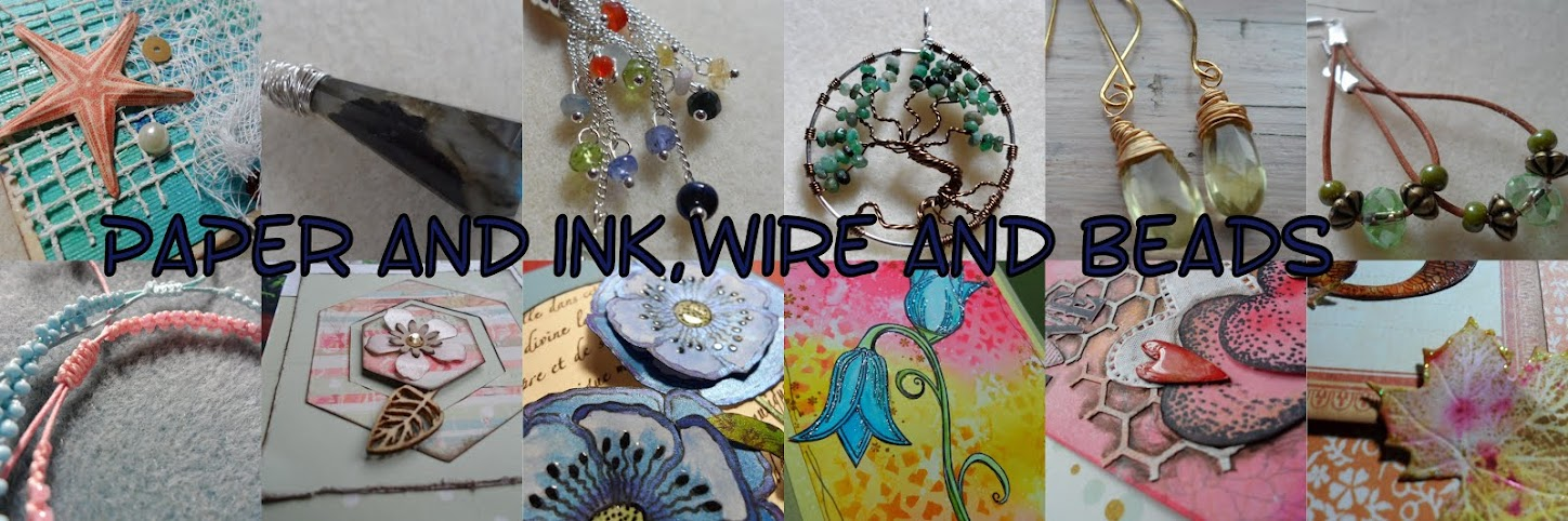 Paper and Ink, Wire and Beads