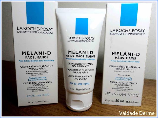La Roche-Posay Melani D Mãos