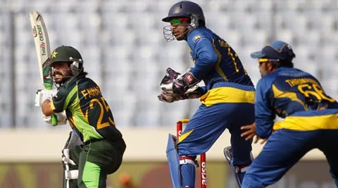 Fawad Alam in final of Asia Cup 2014