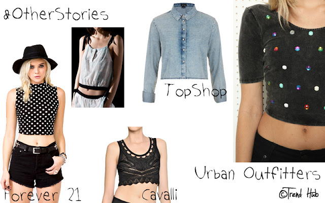 Tendenze 2013 - crop top