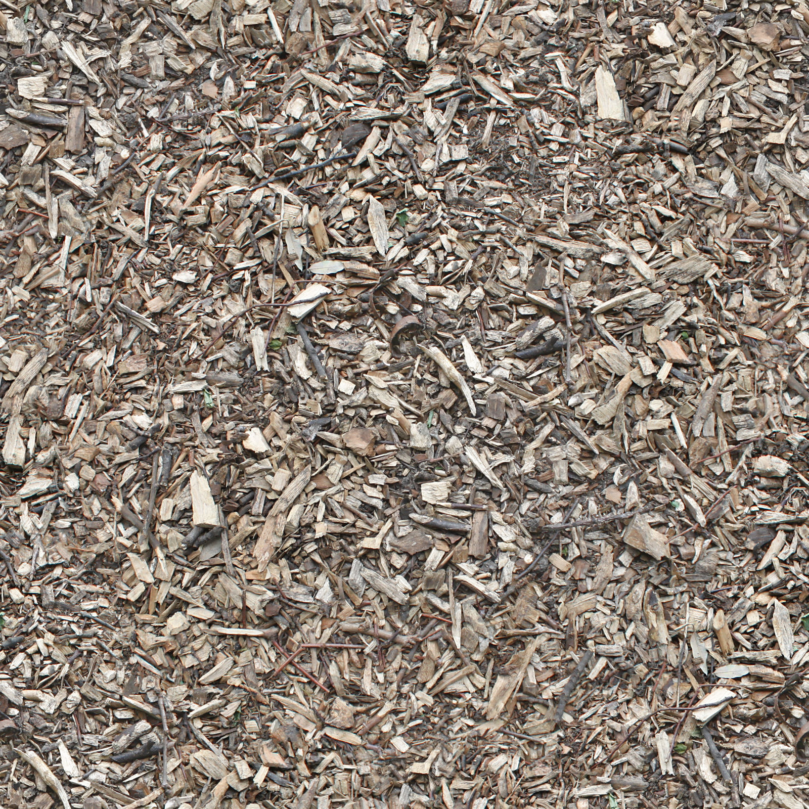 Seamless Wood Chips Ground Texture