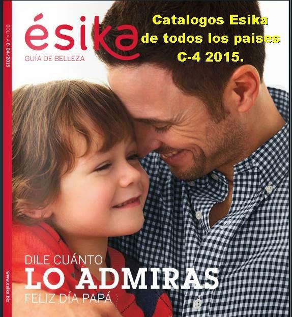 Esika Catalogos de Campaña 4 2015