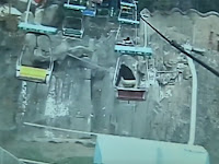Video - Homem atira-se de teleférico para fosso de tigres em jardim zoológico