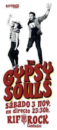 3 nov: THE GYPSY SOULS en directo