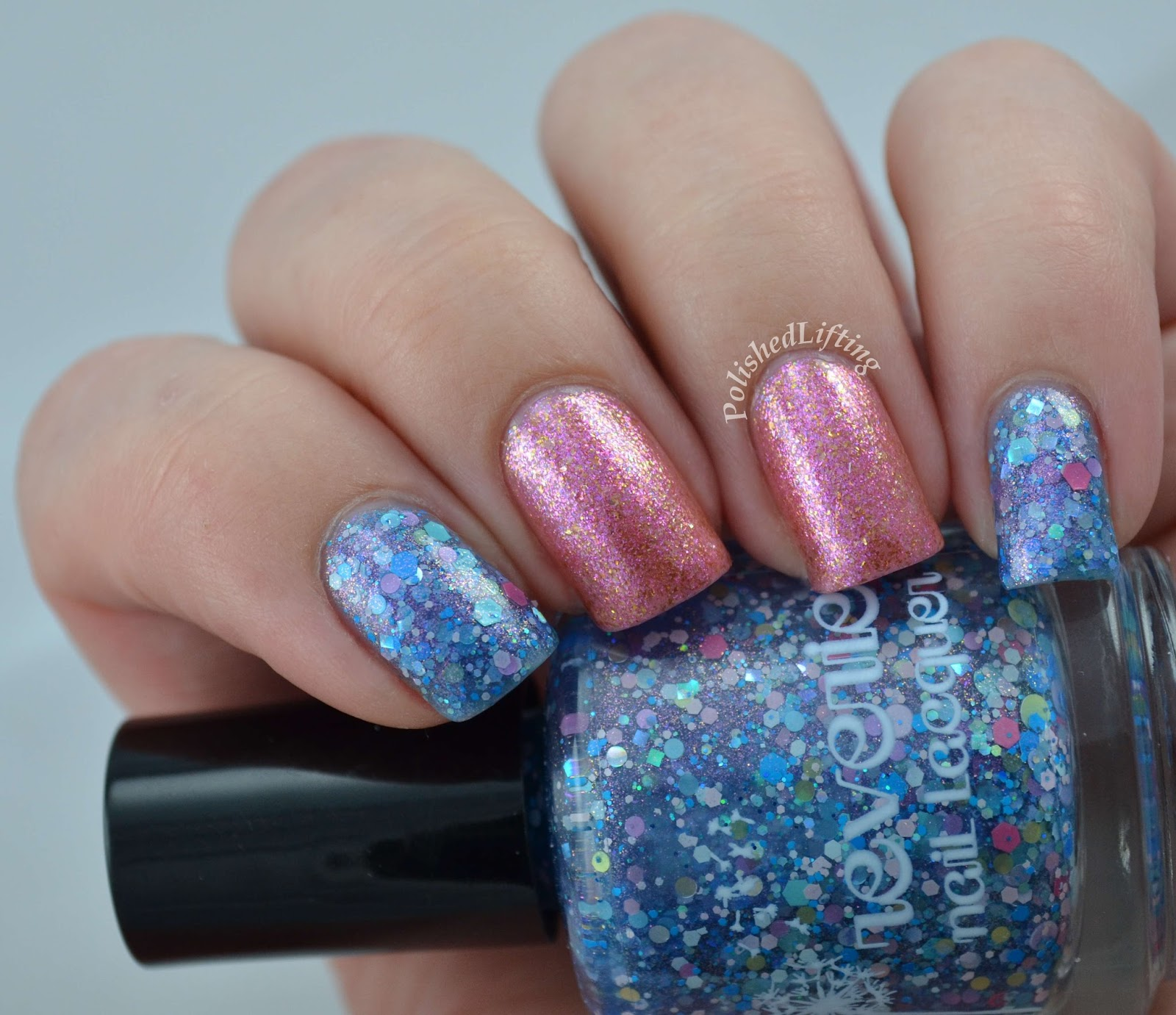 Reverie Nail Lacquer Castles in the Air Rainbow Honey Chemical Plant