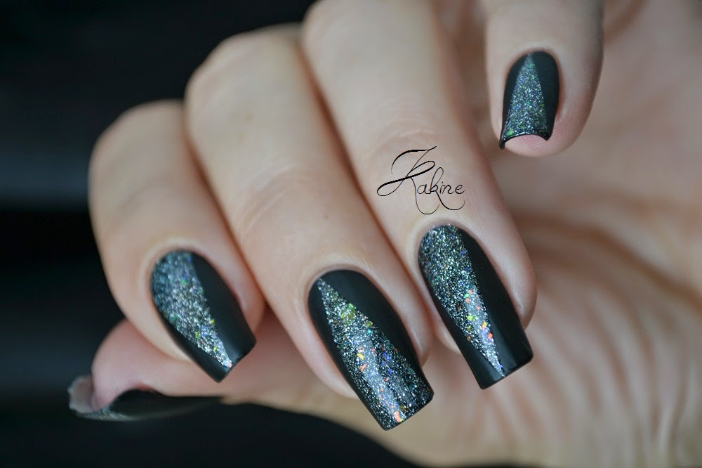 kakine nail art nail art triangle mat holo. Black Bedroom Furniture Sets. Home Design Ideas