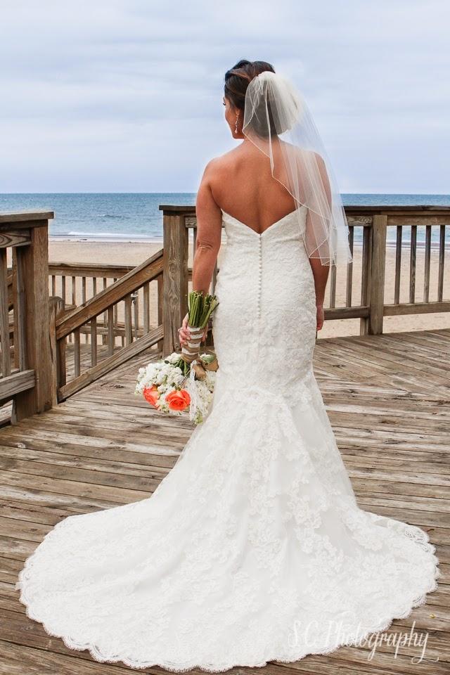 bridal portrait, weko beach, lake michigan
