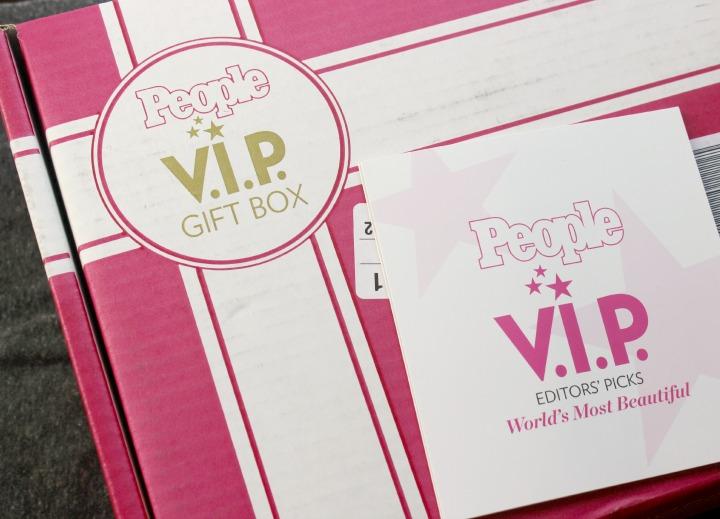 """People Magazine """"World's Most Beautiful"""" VIP Gift Box May 2014"""