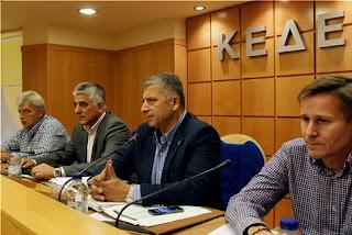 Συνεδρίαση της ΚΕΔΕ για το μεταναστευτικό παρουσία Δρίτσα και Χριστοδουλοπούλου