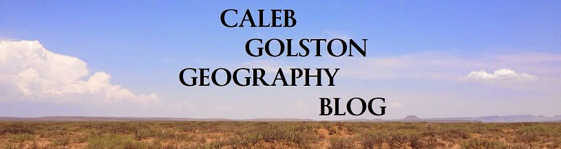 Caleb's Geography Blog