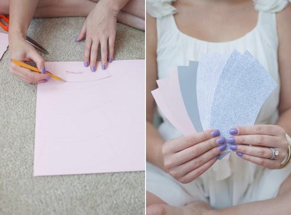 Girlanda z jednorazowych kubków - świetny pomysł na dekorację DIY! Tutorial