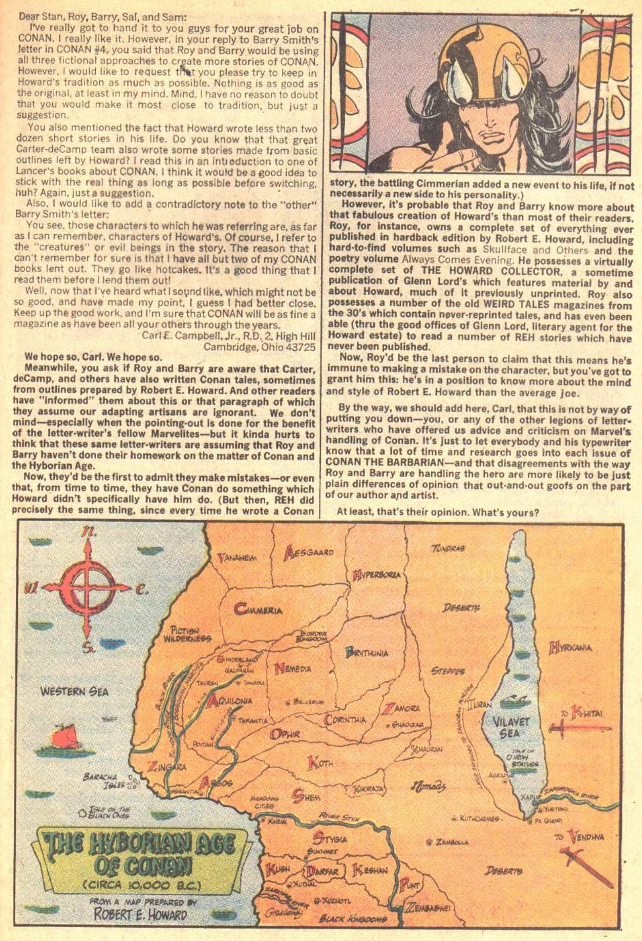 Conan the Barbarian (1970) Issue #8 #20 - English 23