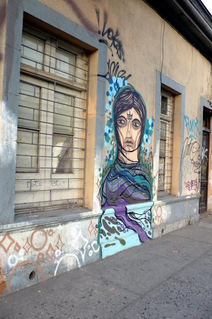 street art in santiago de chile barrio bellavista arte callejero by santana
