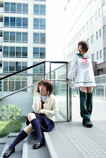 cosplay of Air Gear's Ringo and Simcha