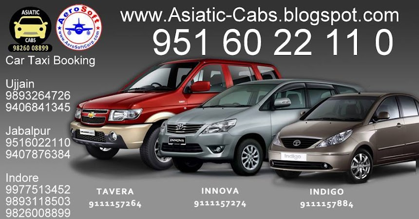 Book My Car Taxi In Jabalpur