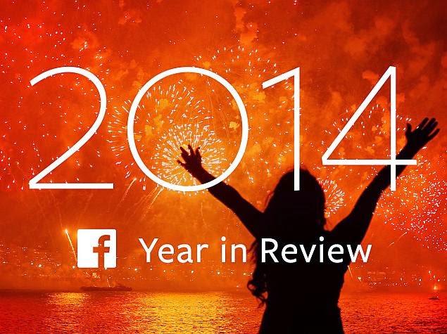 أبرز عشرة أحداث لعام 2014 على الفيس بوك