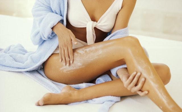Cuidados com a pele do corpo