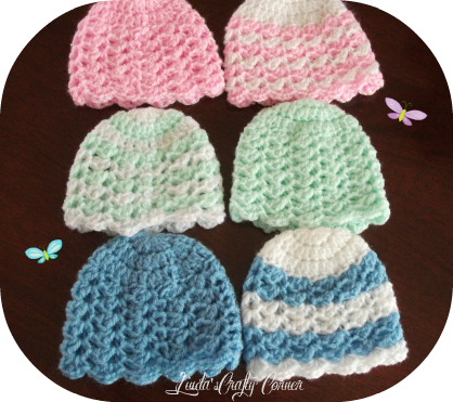 hats,babies hat,preemie,easy,crochet