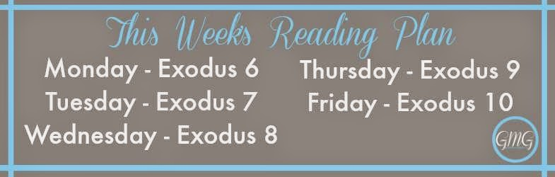 Exodus Reading Plan