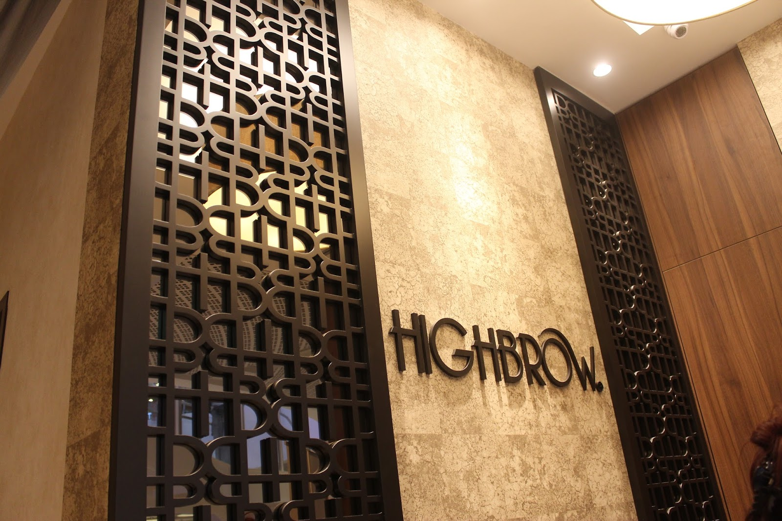 highbrow, singapore, capitol piazza