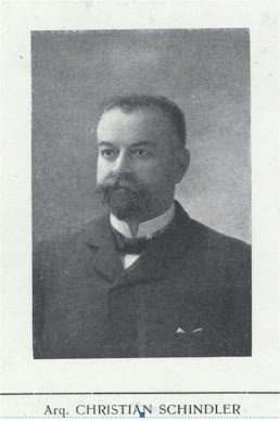 Arquitecto Christian Schindler ( Berna 1859- Buenos Aires 1920)
