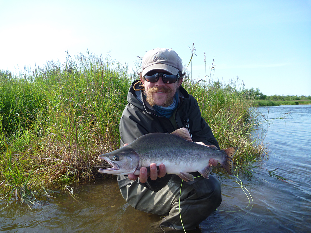 Fly fishing in the alaska backcountry nemo equipment for Backcountry fly fishing