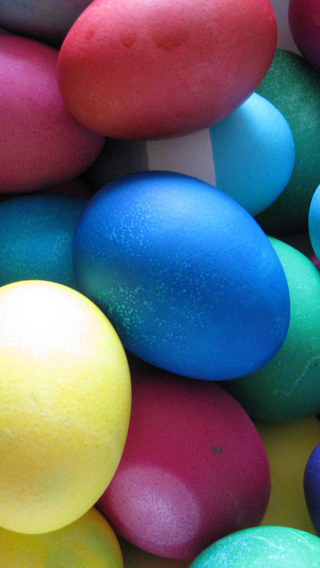 Free Download Easter Eggs IPhone 5 HD Wallpapers