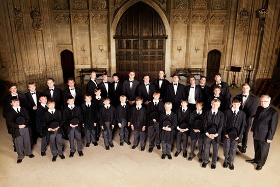 Stephen Cleobury and the choir of King's College, Cambridge