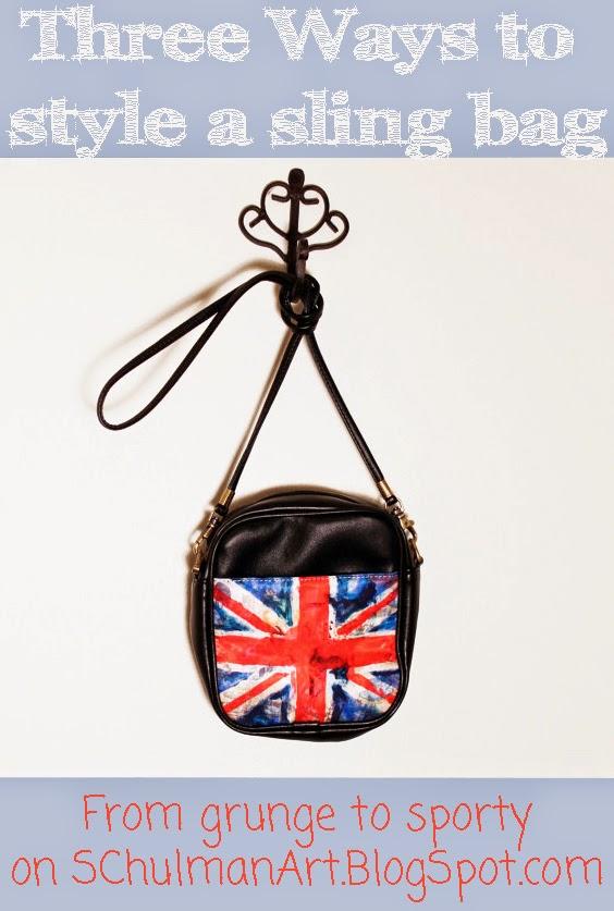 union jack sling bag