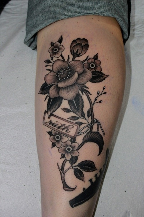 jasmine flower tattoo