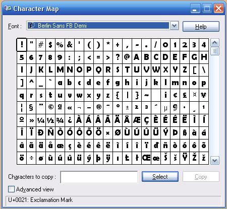character-map-windows