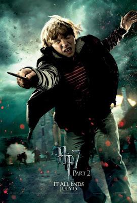 Harry Potter y las reliquias de la muerte. Parte 2. Poster Ron