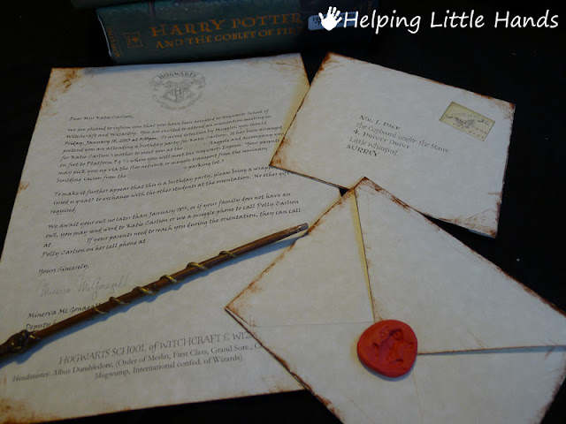 Pieces by Polly Printable Hogwarts Acceptance Letters or Harry – Harry Potter Party Invitation