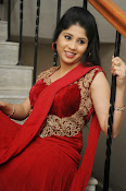 Ziya Khan Glamorous Photos in Red-thumbnail-2
