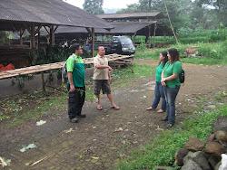 Kunjungan ke Peternakan Sapi-Kambing-Domba tgl 26 Maret 2013