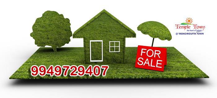 Open Plots for Sale Near Yadari
